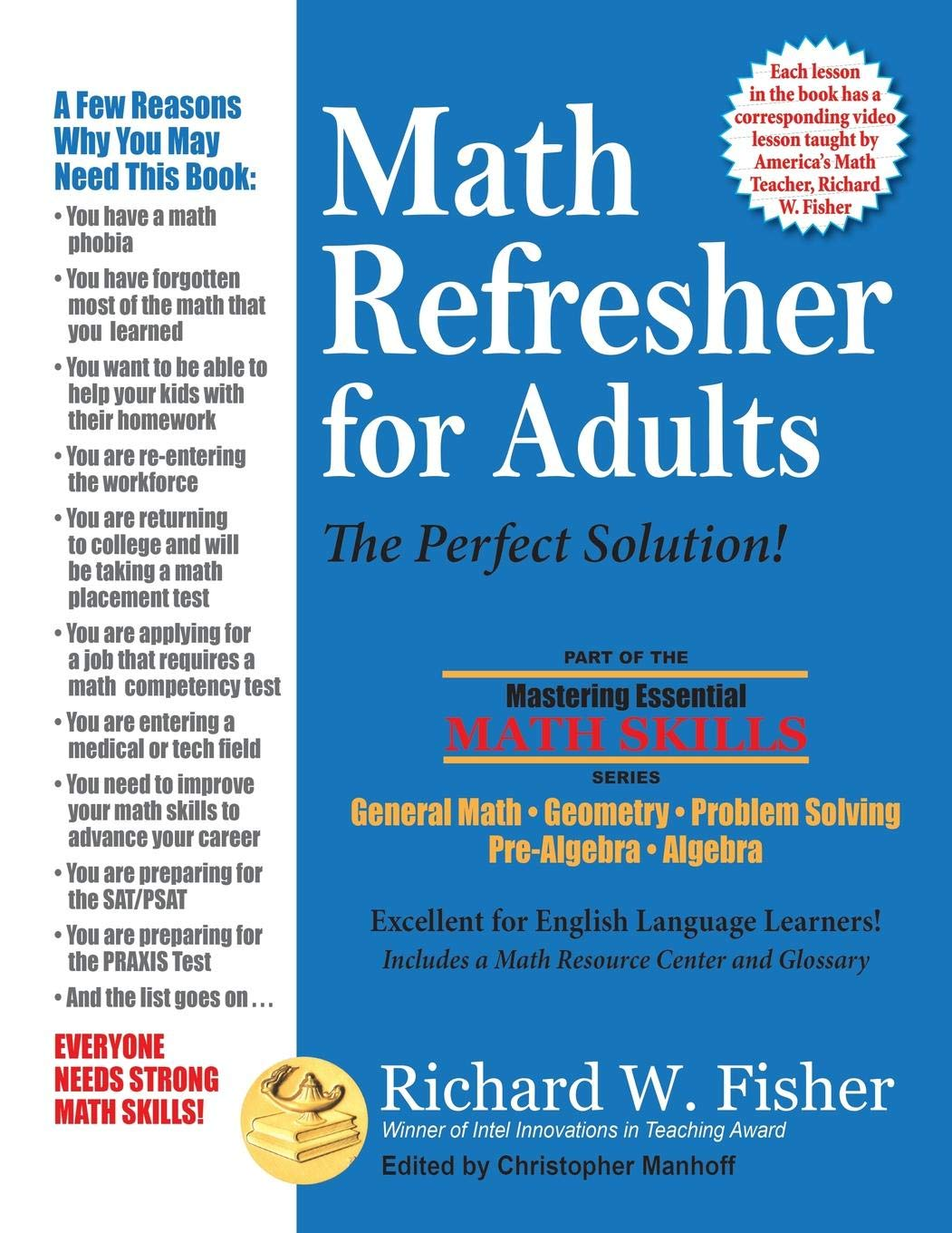 Amazon.com: Math Refresher for Adults: The Perfect Solution ...