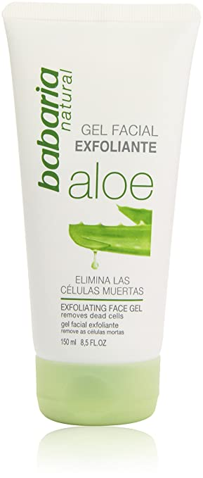 2 opinioni per Babaria Gel Sfoliante, Aloe Vera Gel Exfoliante Facial, 150 ml