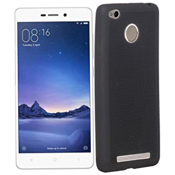 huge selection of bbcd3 0fa94 MobAces silicon soft back cover for Redmi 3s Prime