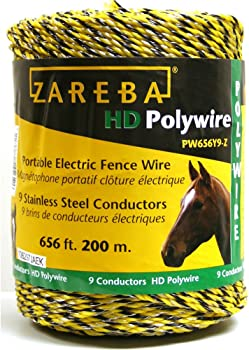 Zareba 656-Ft Portable Electric-Fence Polywire