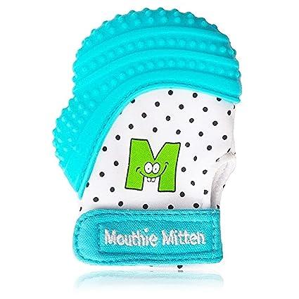 Mouthie Muffola - muffola a guanto dentizione silicone - Turchese ... 4261312489c4