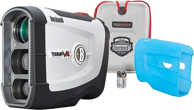 Best golf rangefinder : Bushnell Tour V4 JOLT Golf Laser Rangefinder