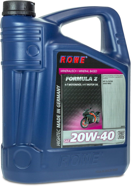 Rowe Hightec Formula Sae 20w 40 Z 5 Liter Auto