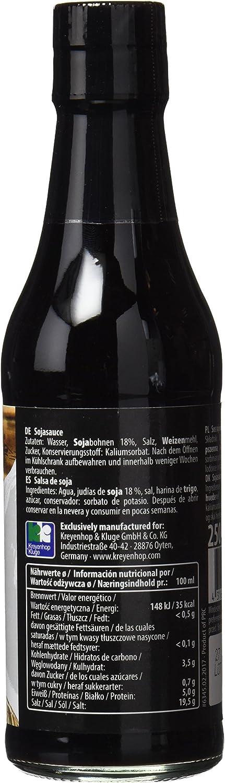 Bonasia Salsa de Soja Clara - Paquete de 12 x 250 ml - Total: 3000 ml