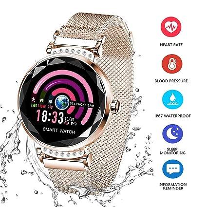 Amazon.com: Xiaojun Smart Watch Square IP68 Waterproof ...