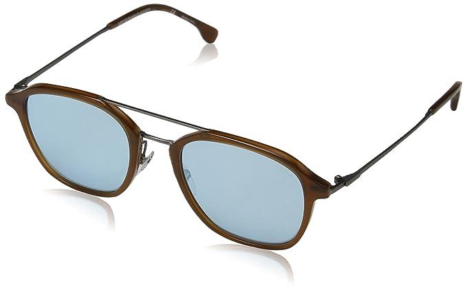 bf9d9d5b0189b2 Lozza mixte adulte FIRENZE 11 Montures de lunettes, Marron (Shiny Beige  Caramel)