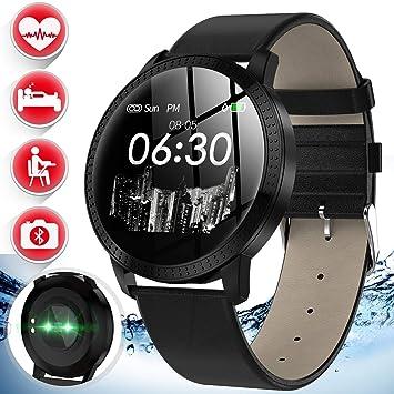Amazon.com: Camlinbo - Reloj inteligente para mujer con ...