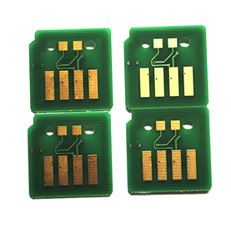 4 x Toner Chip for Xerox Workcentre 7525 7530 7535 7545 7556 (006R01517  ~520)