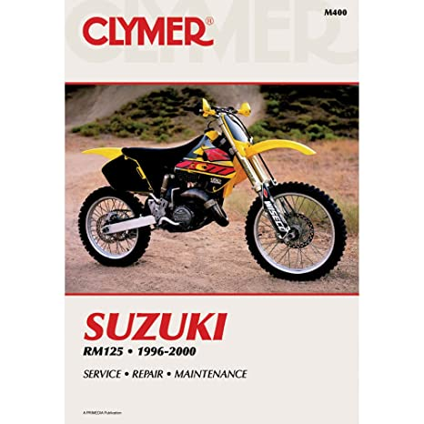 amazon com 96 00 suzuki rm125 clymer service manual misc automotive rh amazon com suzuki rm125 service manual download suzuki rm125 service manual download