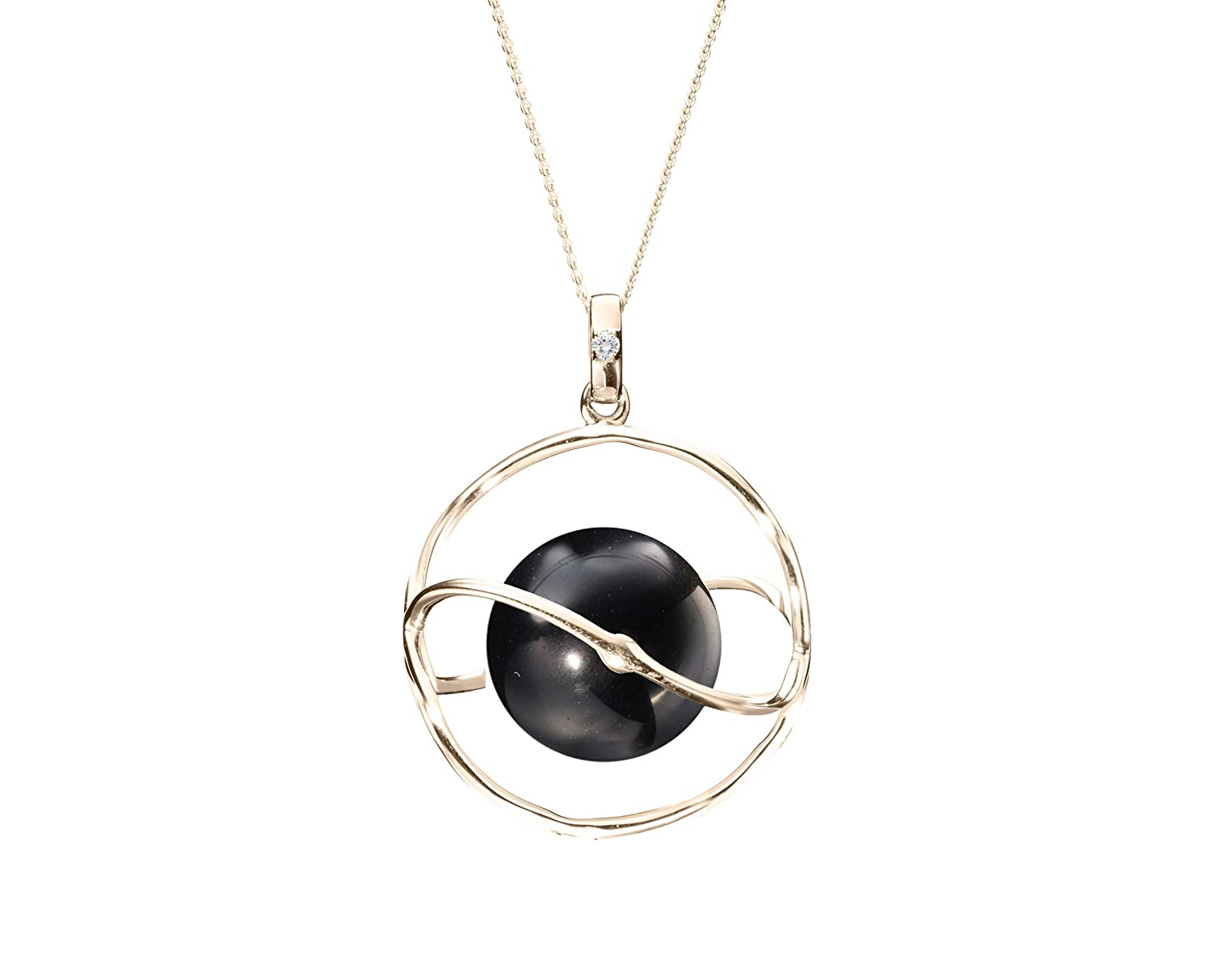 Gift for woman Black tourmaline necklace Black stone Black Tourmaline Sets Healing stone jewelry Gold Black Tourmaline Jewelry Set