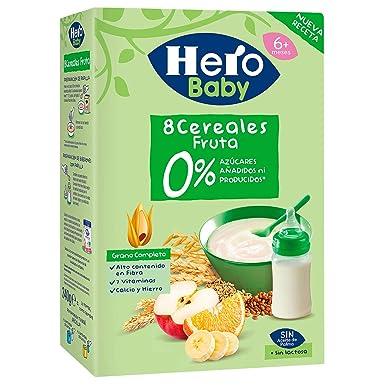 Hero Babynatur - Cereales Y Frutas 500 g: Amazon.es: Alimentación ...