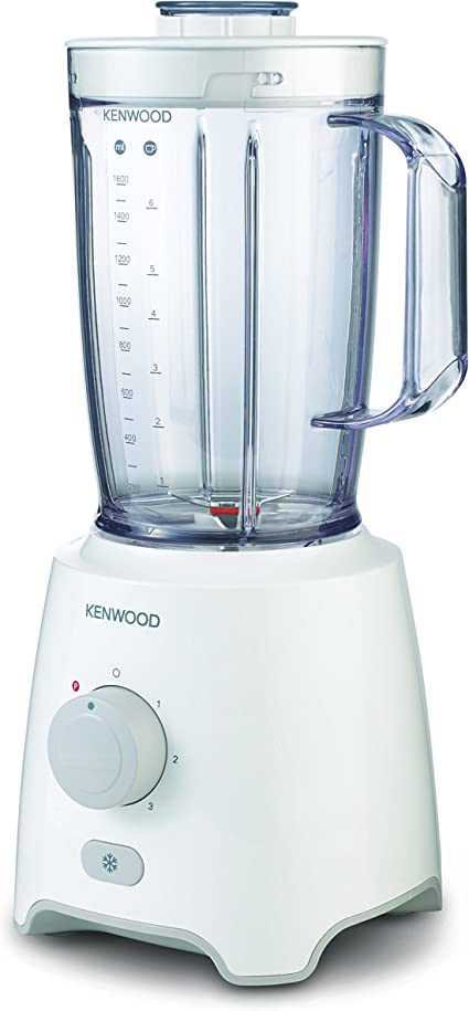 Kenwood BLP400WH Batidora, vaso termoresistente, 650 W, 2 litros ...