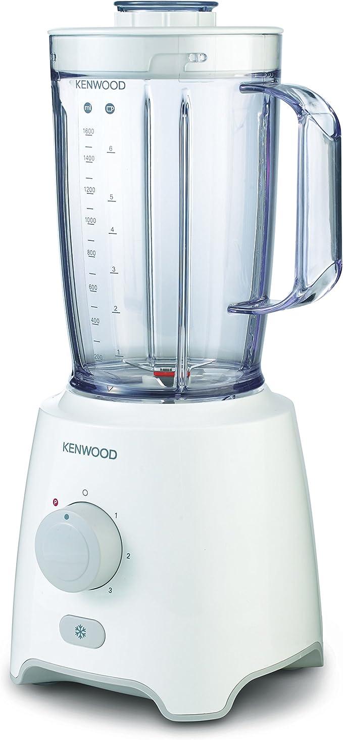 Kenwood BLP402WH Batidora de vaso, 650W, 2 L, plástico, 3 ...