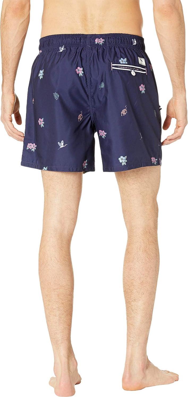 08dce2a349 Amazon.com: Ted Baker Men's Delfin Mini Design Printed Swim Shorts: Clothing