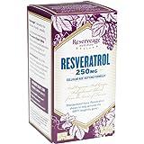 Reserveage - Resveratrol 250mg, Cellular Age-Defying Formula, 60 Capsule