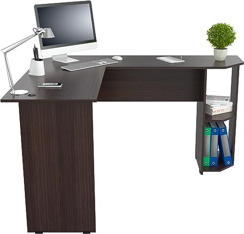 Inval Merlin L-Shape Corner Desk
