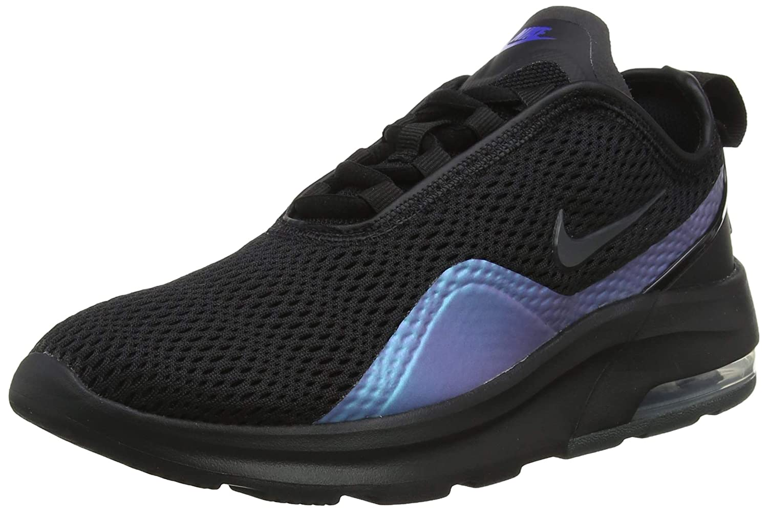 Nike Women's Air Max Motion 2 Running Shoes, Black/Anthracite-Racer Blue