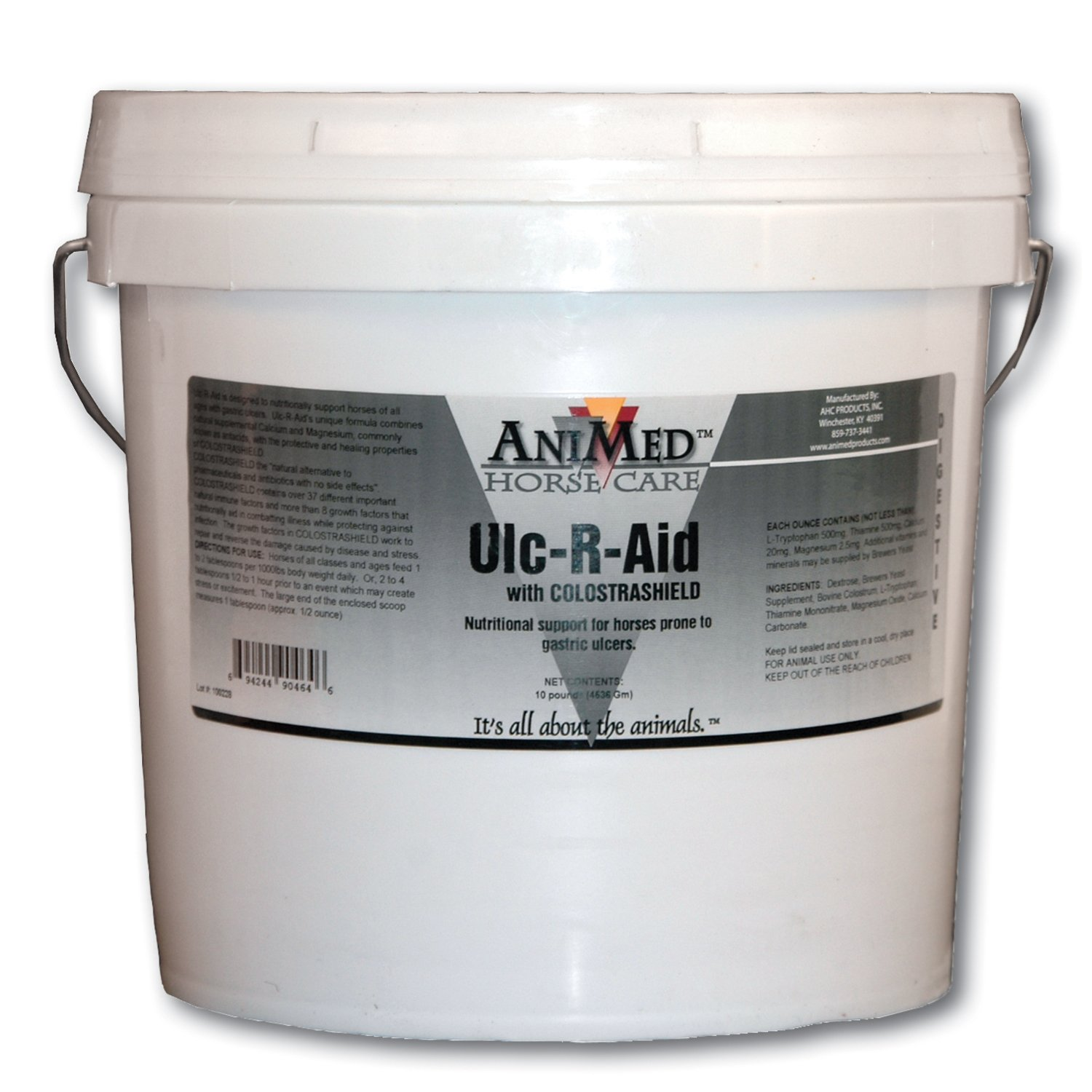 AniMed Ulc-R-Aid Nutritional Supplement for Horses, 10-Pound by AniMed