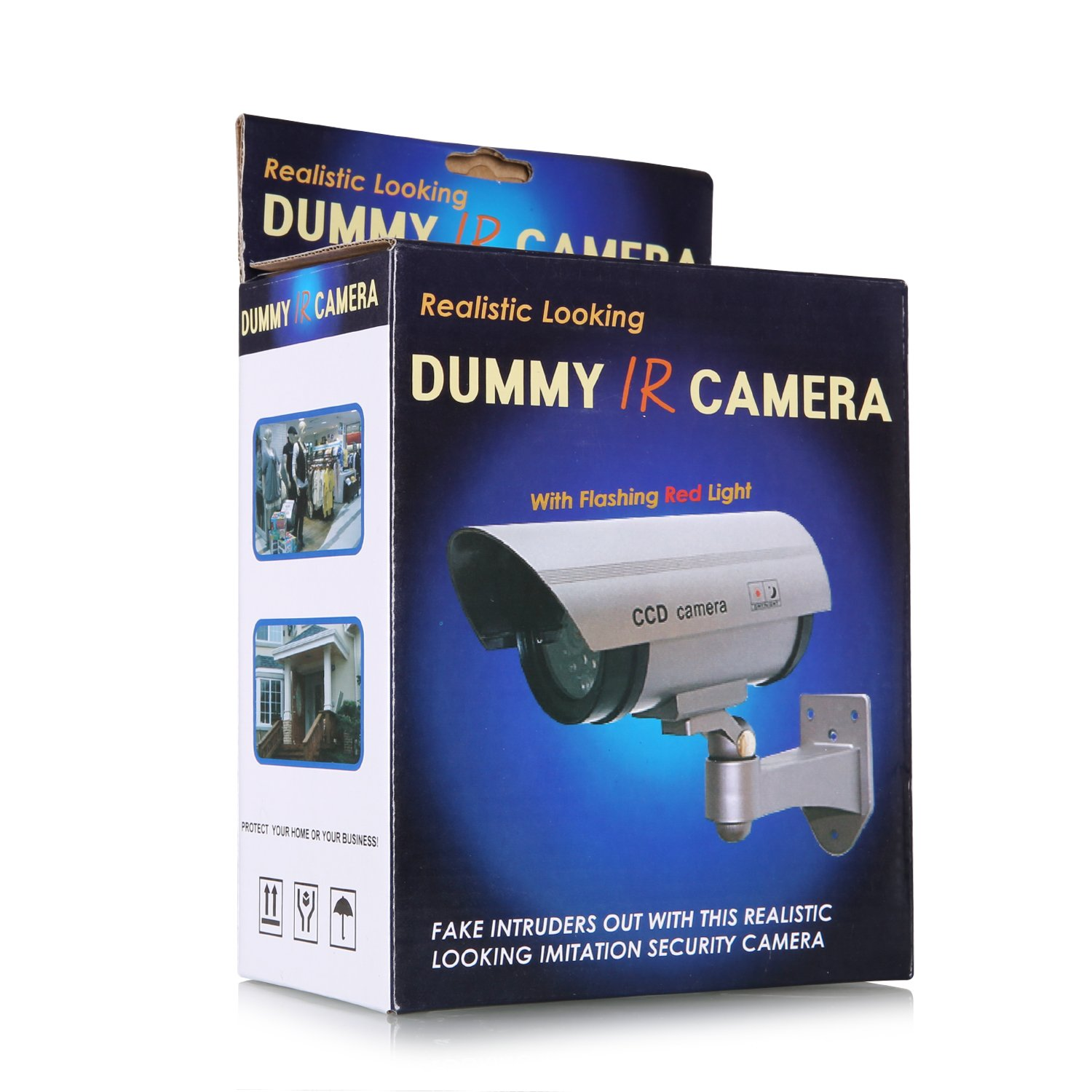 ANNKE 2 Pack Home Security Simulated Cameras with Flashing Red LED for Indoor and Outdoor use by ANNKE (Image #7)