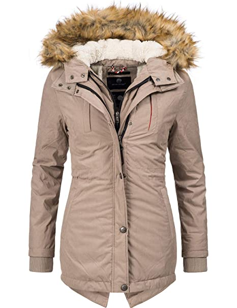 046e167dd7 Marikoo Akira Cappotto Invernale Parka Invernale Foderata da Donna 8 Colori  XS-XXL
