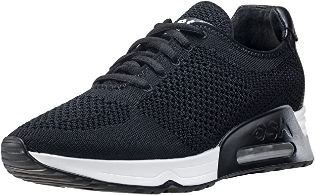 ASH Lucky Knit Womens Trainers Black