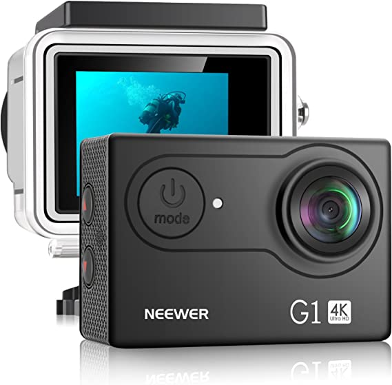 Neewer G1 Ultra HD 4K Action Camera 12MP