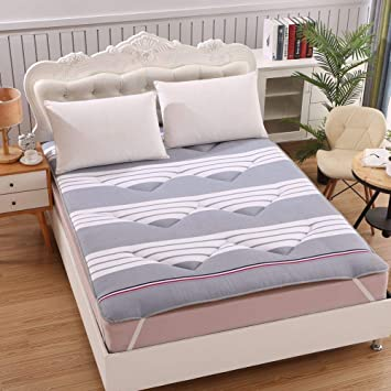 Amazon.com: LXYCD - Colchoneta para dormir Tatami, acolchada ...