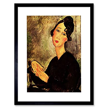 Amedeo Modigliani Portrait Of Dedie Old Master Art Painting Canvas Print