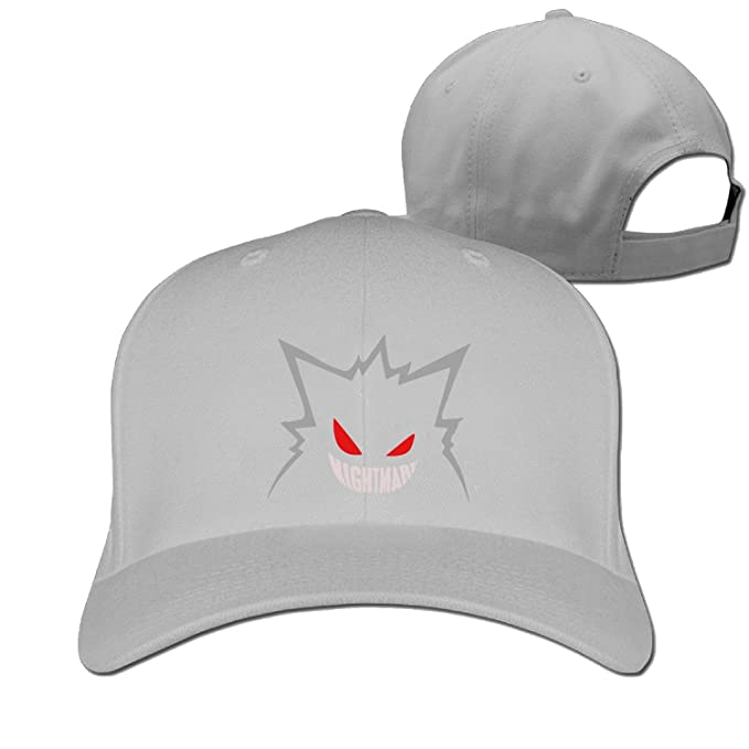 nightmare gengar Fashion Baseball Cap Peaked Hat Snapback (6 colours ... 5c34d1947b87