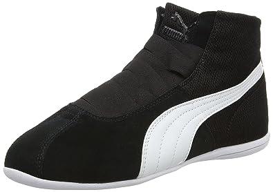 Puma Eskiva Mid Textured Damen Sneaker Schwarz