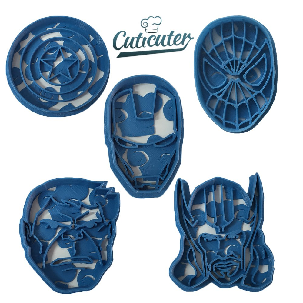 Marvel Superheros Cookie Cutter Pack