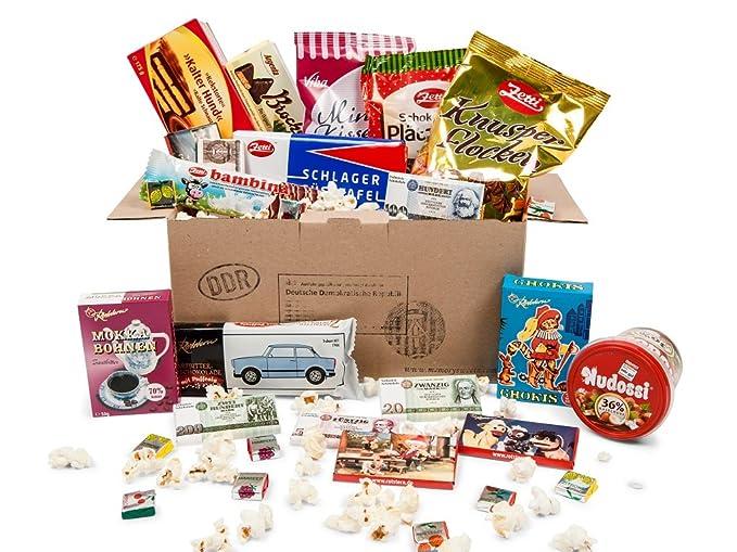 Paquete de dulces de la RDA