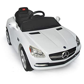 mercedes benz slk kids 6v electric ride on toy car w parent remote control