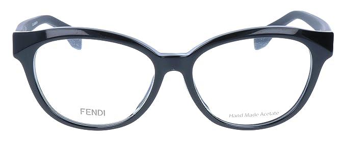 a48904b3b07e0 Fendi Rx Eyeglasses - FF0044 F Black Frame only with demo lenses.-FF0044