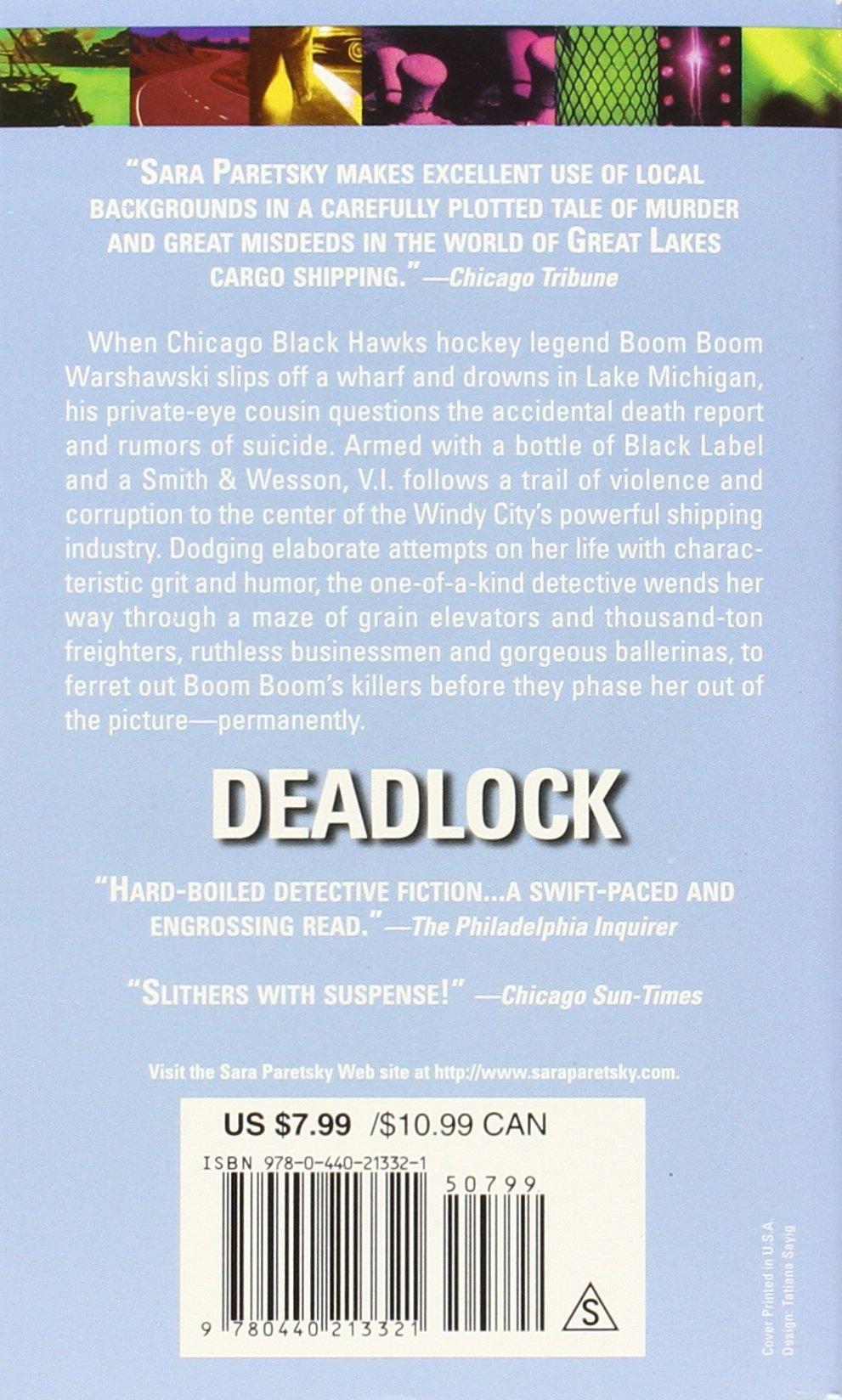Deadlock (v I Warshawski): Sara Paretsky: 9780440213321: Amazon: Books
