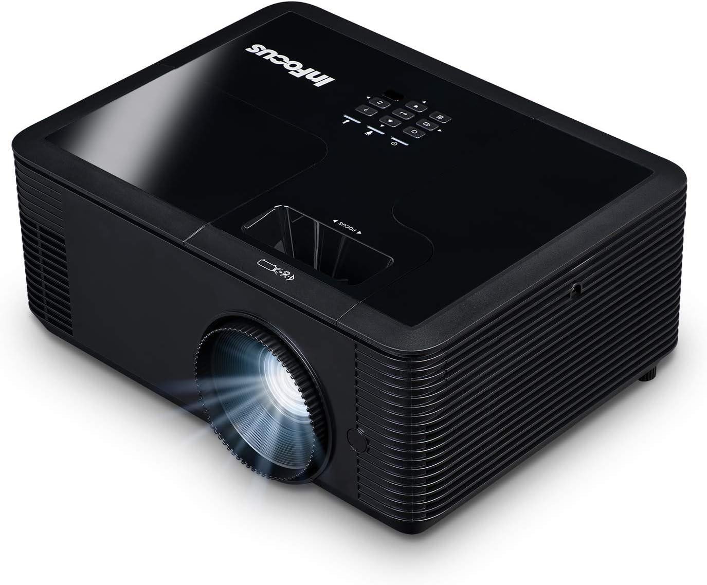 InFocus IN136 DLP WXGA 4000 Lumens, 3X HDMI, VGA, 3D and Wi-Fi Ready TechStation Projector