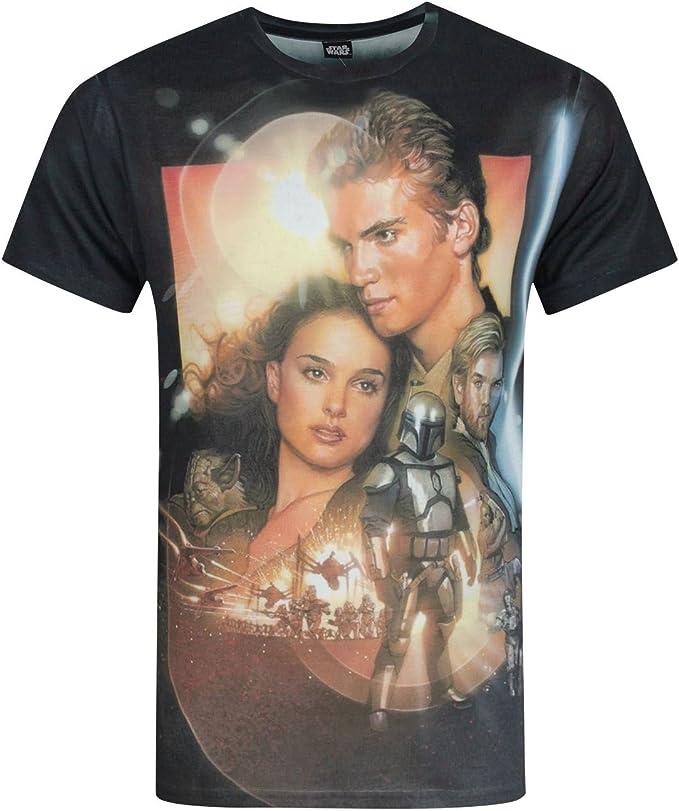 Star Wars Revenge Of The Sith Sublimation Men/'s T-Shirt