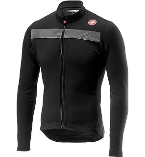 Castelli SQUADRA ER Jacket Lightweight Windproof Cycling Wind//Rain Shell BLACK