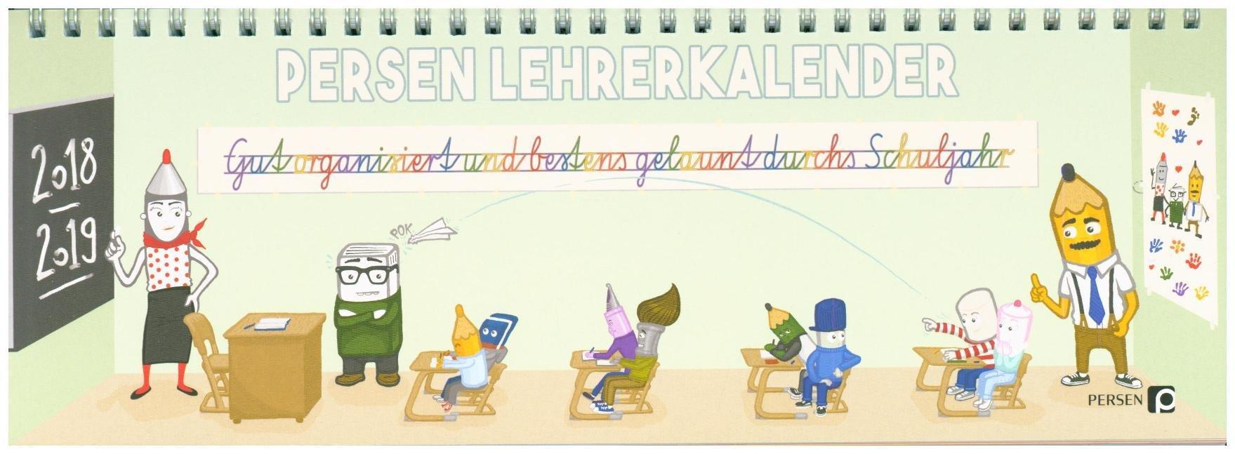 PERSEN Lehrerkalender 2018/19: Lehrerplaner, Schuljahresplaner, Schuljahreskalender, Lehrer-Tischkalender, Lehrer-Wochenkalender (Alle Klassenstufen)