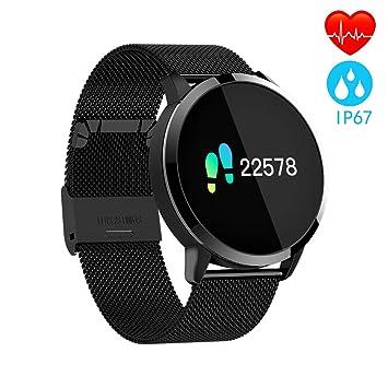 Montre Connectée Intelligente Montre Sport Homme Femme Smartwatch Connecté Étanche IP67 Écran Couleur Tracker d