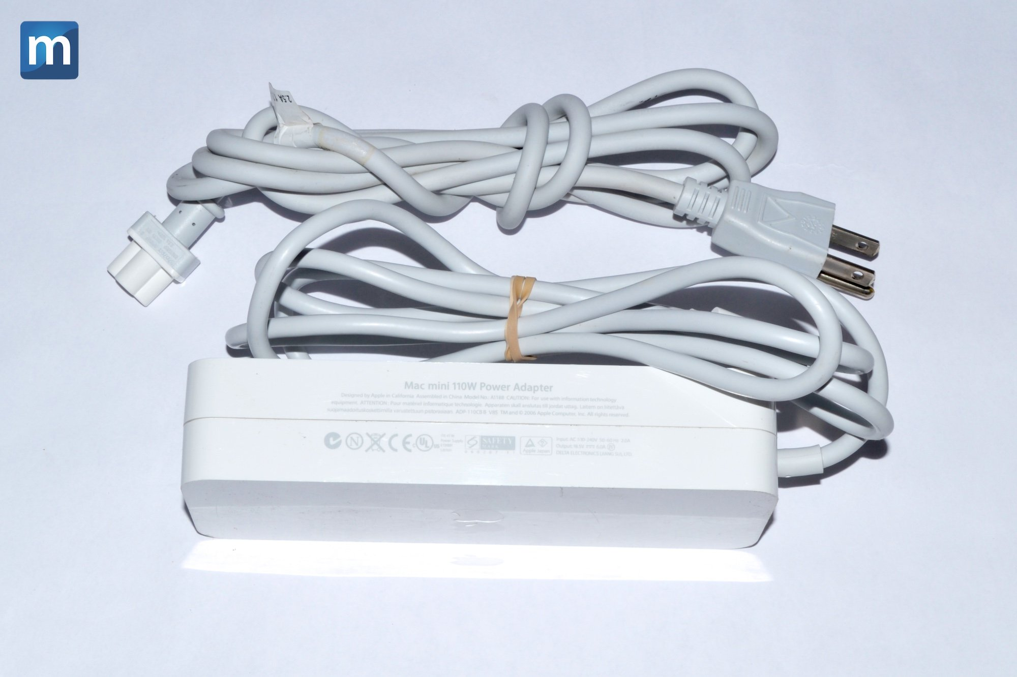 APPLE A1188 18.5V 6.0A 110 WATTS POWER SUPPLY FOR MAC MINI