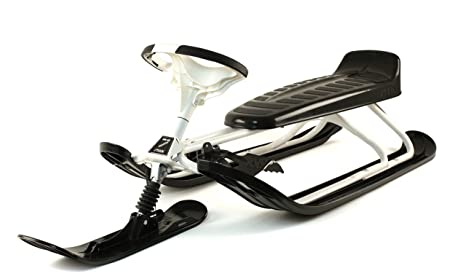 Stiga Sports Snow Racer King Size - Tobogán para nieve, color blanco, talla STANDARD