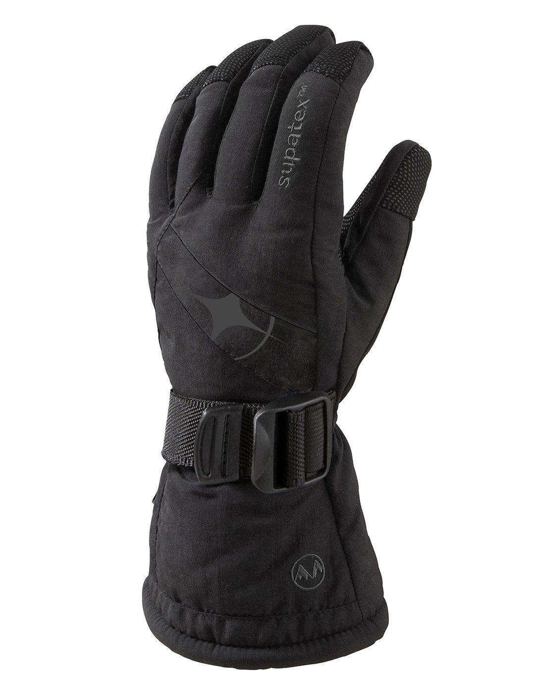 Mens Epic Ski Glove - Black Manbi