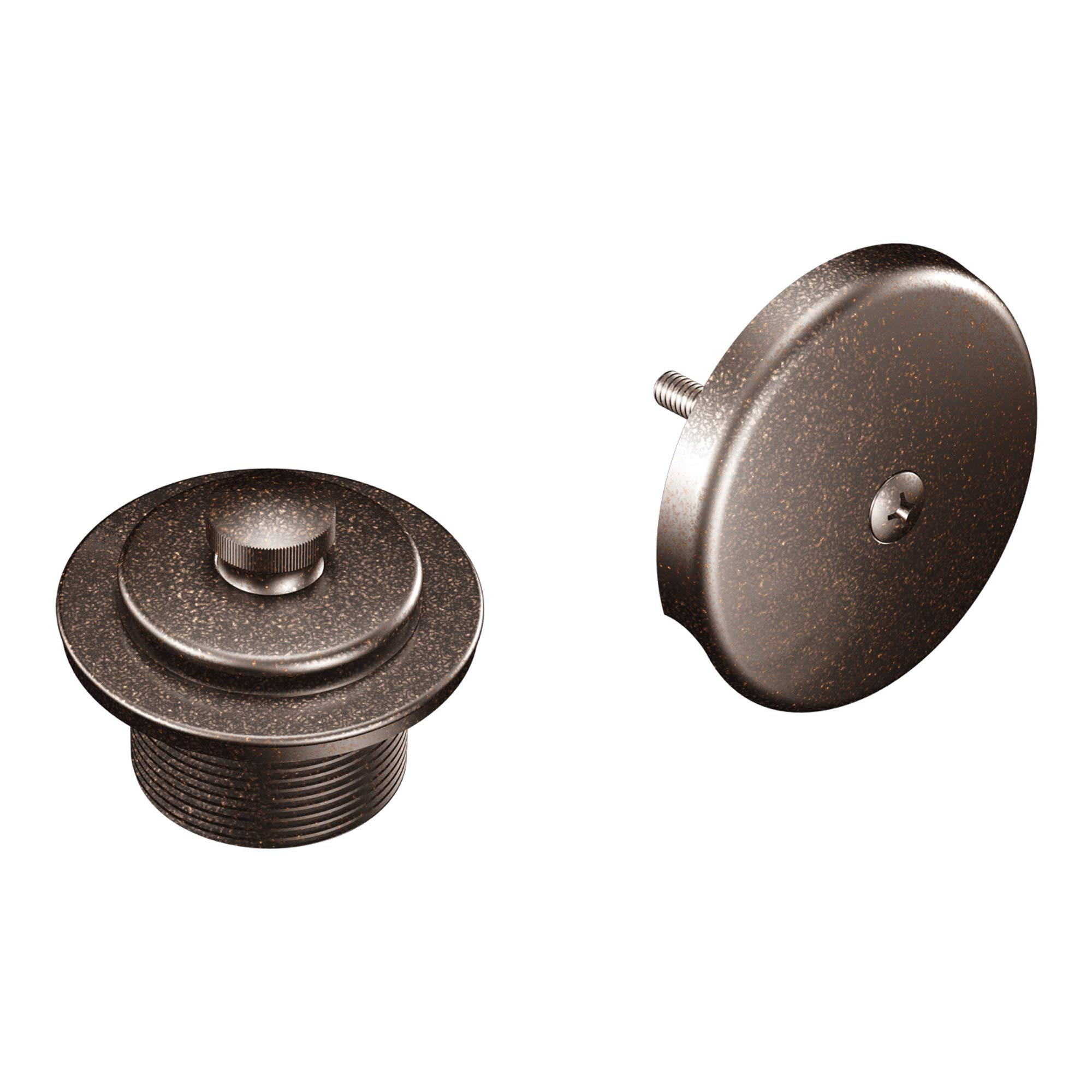 Moen T90331ORB Tub and Shower Drain Cover, Oil Rubbed Bronze