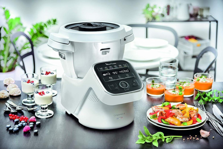 Moulinex Cuisine Companion XL - Robot de cocina, 1550W, Plata ...