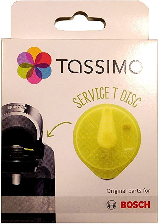 Tassimo Bosch Braun Replacement Cleaning Descaling Service T Disc 621101