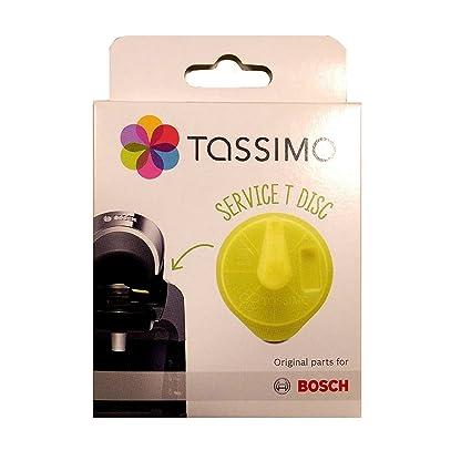 Bosch T-Disc - Pieza de repuesto para Tassimo T20, color amarillo