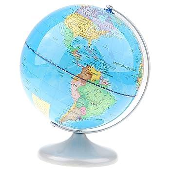 Globus Karte.Baoblaze 20cm Geographische Welt Politische Globus Karte