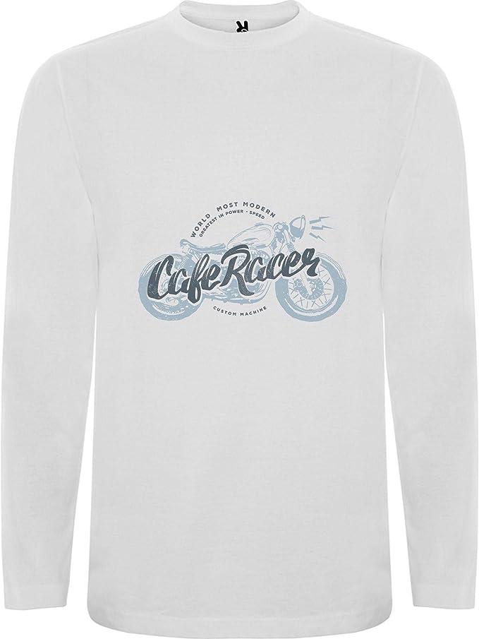 camiseta manga larga cafe racer