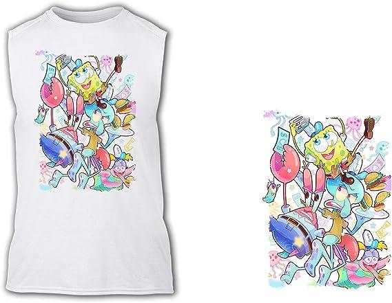 Camiseta SIN Mangas A3 Personajes Debajo del MAR Tshirt ...